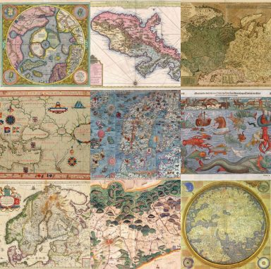 Download 15 Beautiful Old Maps With an Antique Look