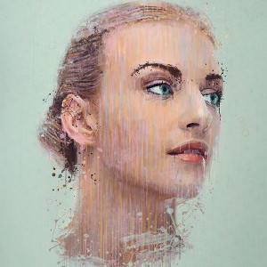 Apply a painterly splatter effect to a photo in Photoshop