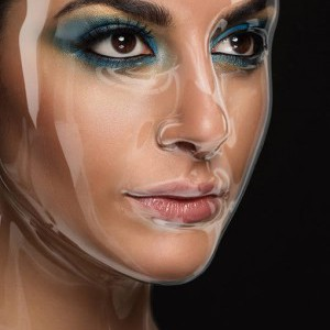 Apply a Plastic Mask Effect to a Portrait