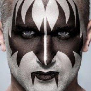 KISS! Apply Gene Simmons' Makeup to a Photo in Photoshop