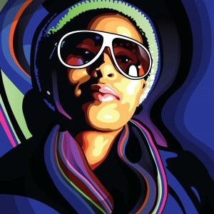 Create a stylish vector portrait in Illustrator and Photoshop