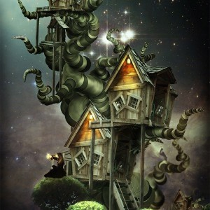 Create a Beautiful Fantasy Treehouse in Photoshop