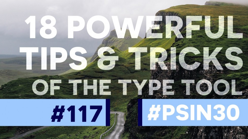 Photoshop type tool tips and tricks