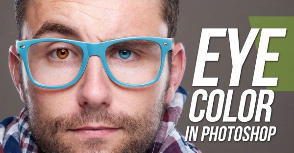 Learn how to easily change eye color in Photoshop