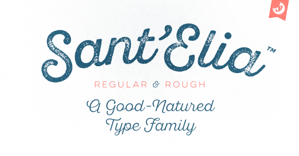 Download 3 fonts from Sant'Elia Script family for free
