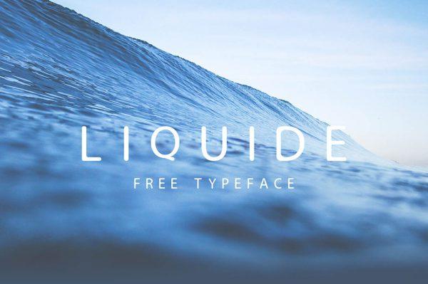 Liquide-Free-Typeface
