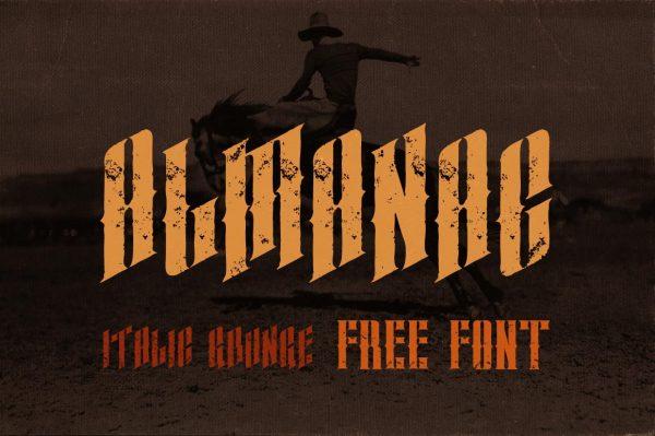 almanac-italic-grunge