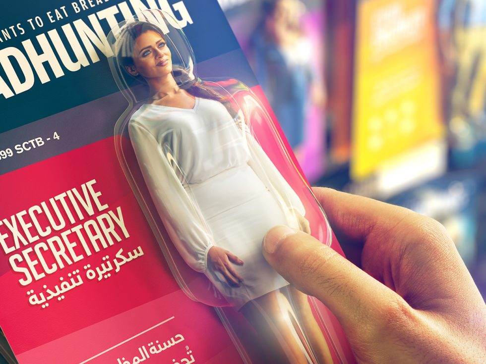 Photography studio turns real people into action figures for personal branding awareness