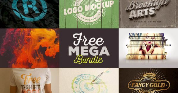 Download hundreds of free fonts, photos and more in this jumbo graphics mega bundle!