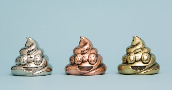 Mini Poop Emoji Sculpture