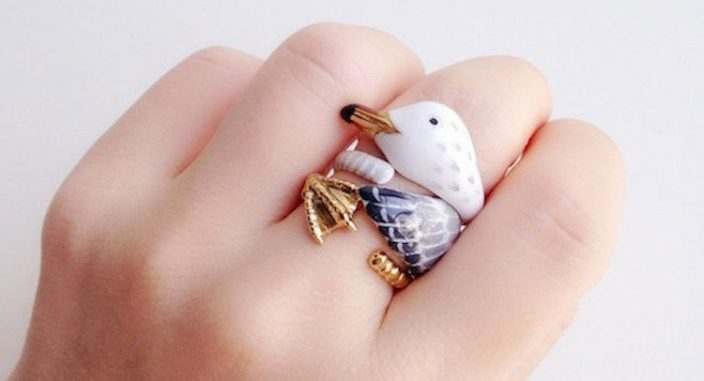 If you're not a fan of rings, these adorable ones will change your mind.