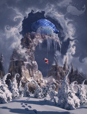 Christmas art that takes your breath away