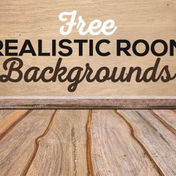 Download a set of free realistic rooms backgrounds