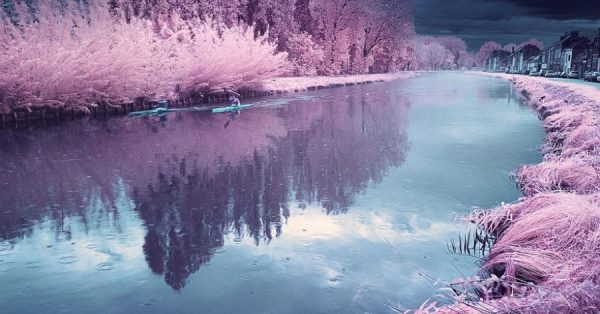 Surreal Infrared Landscape Photography by David Keochkerian