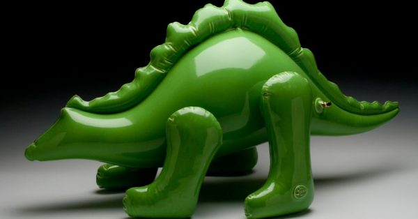 Artist Creates Ceramic Sculptures That Look Like Inflatable Toys