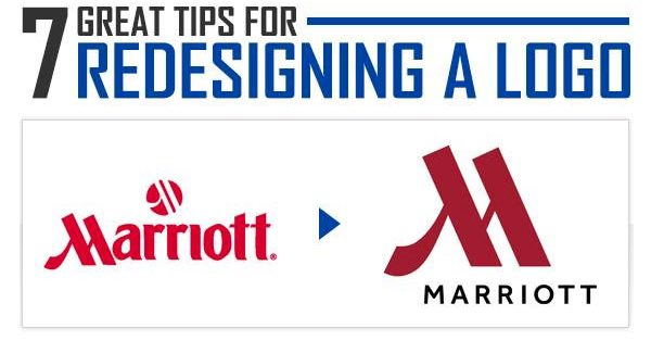 How to Successfully Redesign a Logo (Infographic)