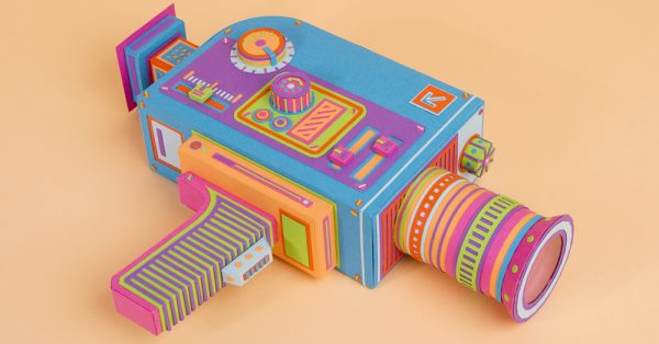 Two designers takes paper crafting to a whole new level