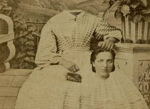 Before Photoshop: Creepy headless portraits from the 19th century