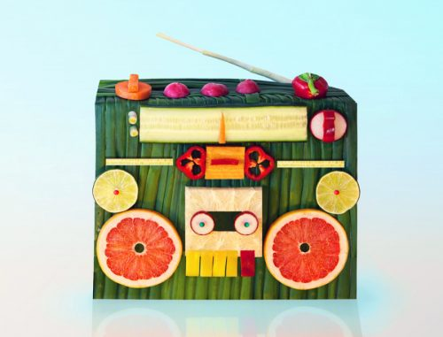 Impressive Food Sculptures by Dan Cretu