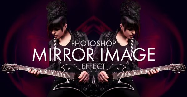 Create a mirror image photo effect in Photoshop