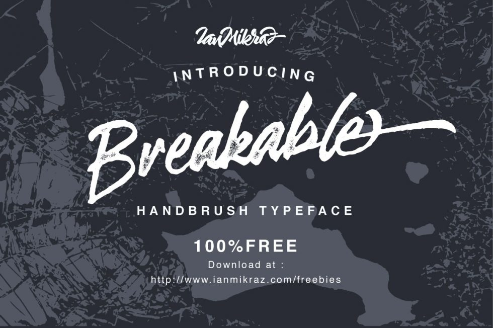 Download Breakable Free Typeface