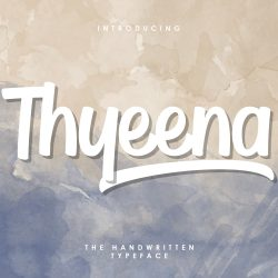 Download Beautiful Thyeena Free Font
