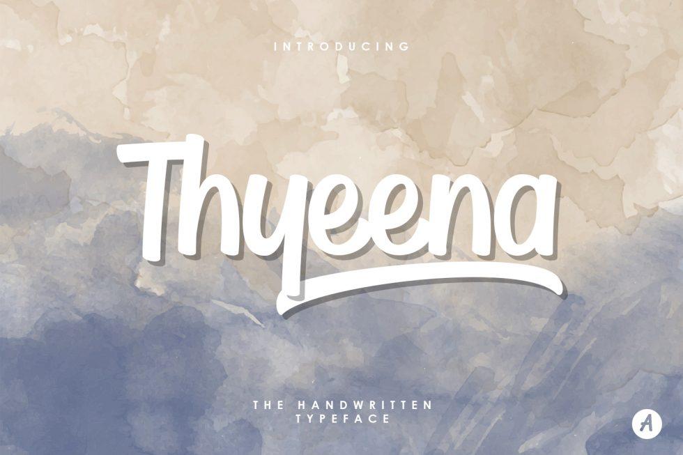 Download Beautiful Thyeena Free Font