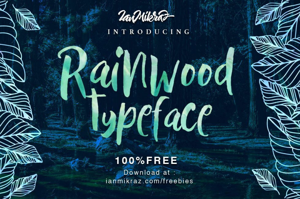 Download Rainwood Brush Script Free Typeface