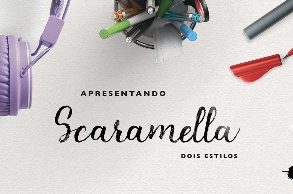 Download Scaramella Calligraphic free typeface